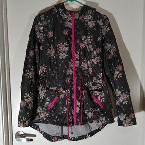 Floral Rain Coat